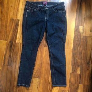 Torrid Dark Wash Denim Skinny Jeans Size 20 R